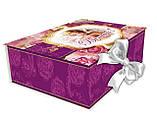 Подарочная упаковка, Картонная коробка, Шкатулка с лентой, фото 2