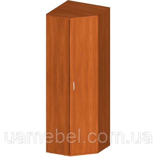Угловой шкаф офисный для одежды (590х1823) Бюджет Б-903
