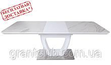 Раскладной стол TORONTO 120/160х80 керамика белый Nicolas (бесплатная адресная доставка)