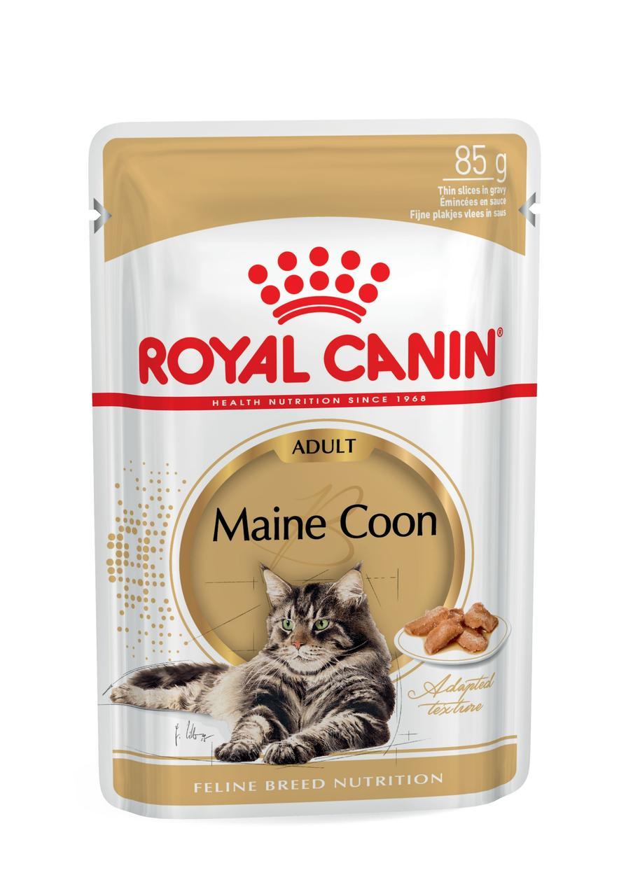 Корм для котов MAINE COON ADULT (В СОУСЕ)   0,085 кг