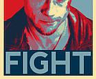 Постер BEGEMOT Поп-Арт Брэд Питт Бойцовский клуб 40x61 см (1120051), фото 2