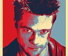 Постер BEGEMOT Поп-Арт Брэд Питт Бойцовский клуб 40x61 см (1120051), фото 3