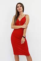 S, M, L / Коктейльне жіноче плаття Grasia, червоний S (42-44)