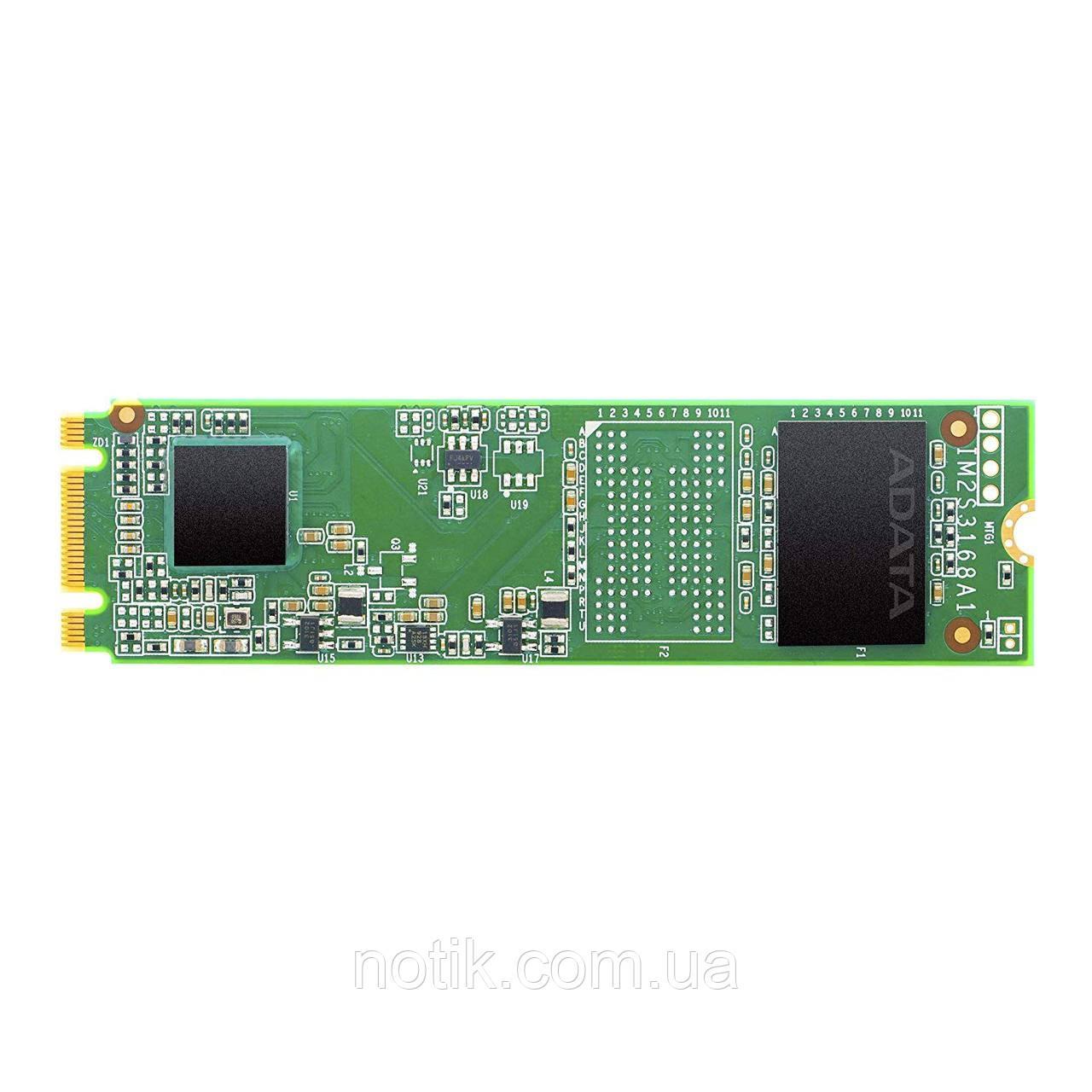 Твердотельный накопитель M.2 240Gb, A-Data Ultimate SU650, SATA3, 3D TLC, 550/500 MB/s (ASU650NS38-240GT-C)