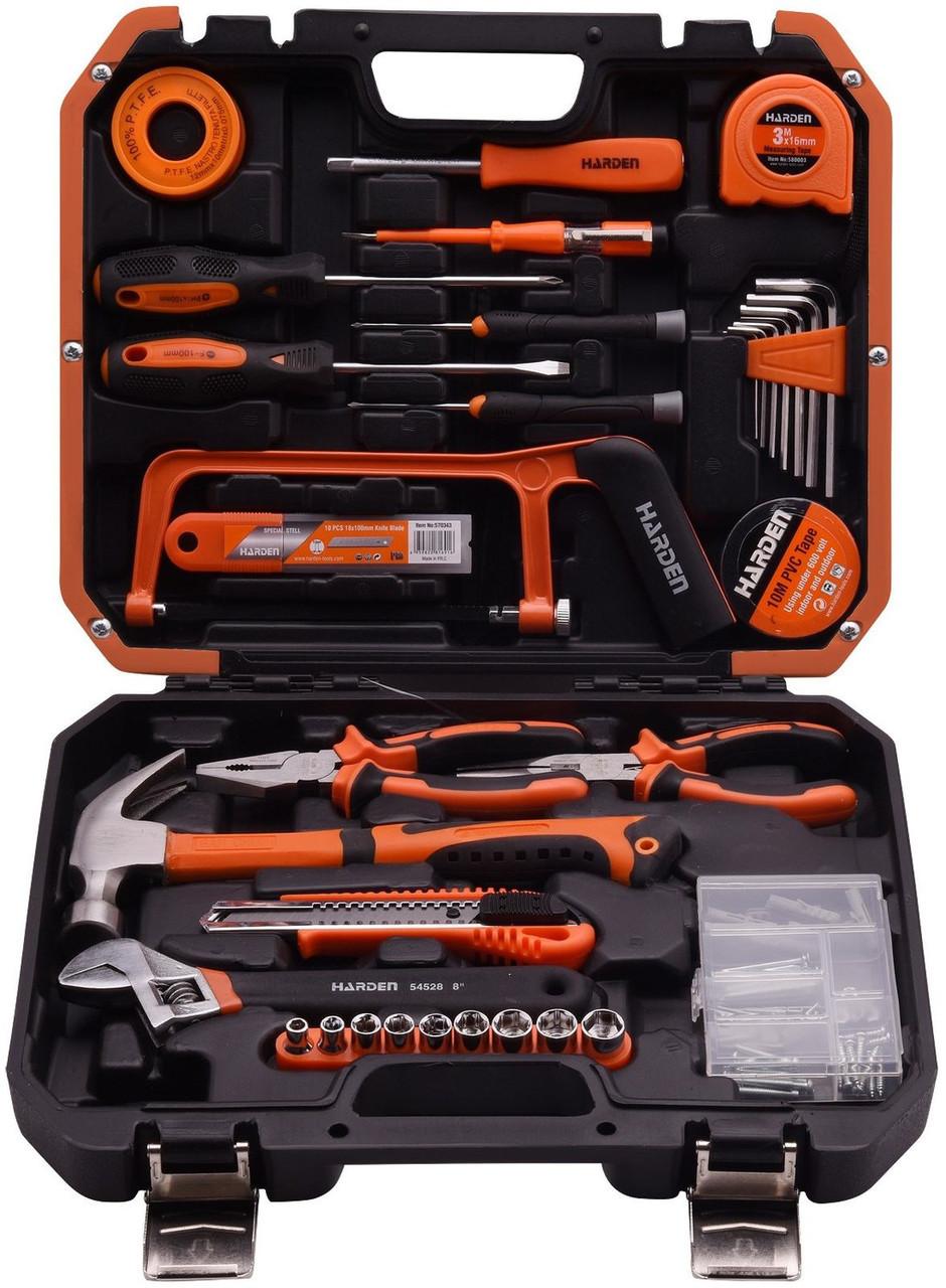 Универсальный набор инструментов для дома 39 пр. Harden Tools 511039