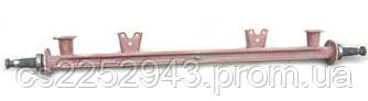 Балка передней оси с фланцами и подушками (голая) 2ПТС-4