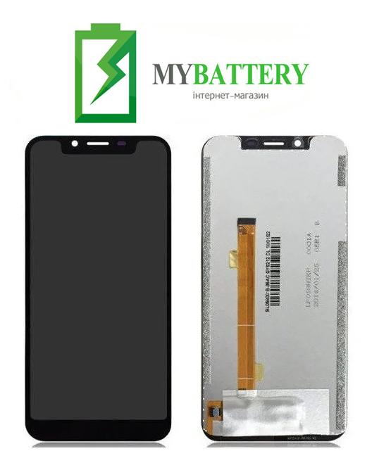 Дисплей (LCD) Oukitel U18 с сенсором черный