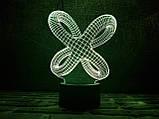 """3D светильник ночник """"Цикличность"""" , фото 2"""