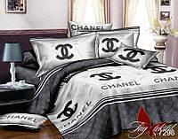 Комплект постельного белья двухспальный с компаньоном R7296 ТМ TAG 2-спальный, постельное белье двухспальное