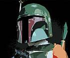 Постер BEGEMOT Поп-Арт Бобба Фетт Звездные войны 40x61 см (1120096), фото 2