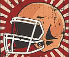 Постер BEGEMOT Ретро Американский футбол 40x61 см (1120113), фото 2