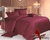 Комплект постельного белья двухспальный Cherry ТМ TAG 2-спальный, постельное белье двухспальное