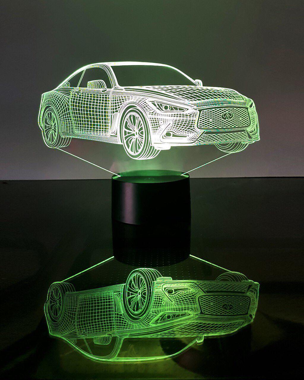 """3D светильник ночник """"Автомобиль 21"""" 3DTOYSLAMP"""
