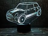 """3D светильник ночник """"Автомобиль 37 """" 3DTOYSLAMP, фото 2"""