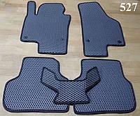 Водо- и грязезащитные коврики на Volkswagen Jetta VI '10- из экологически чистого материала EVA
