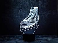 """3D светильник ночник """"Фигурное катание"""" 3DTOYSLAMP"""