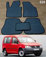 Коврики на Volkswagen Caddy '04-15. Автоковрики EVA