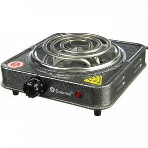 Плита электрическая однокомфорочная спиральная Domotec MS-5801 1000W, фото 2