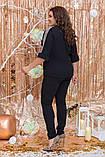 Модный женский костюм двойка,размеры:48-50,52-54, 56-58., фото 2