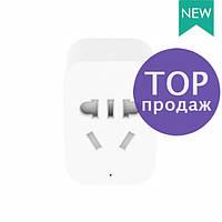 Розетка Xiaomi Mi Smart Socket 2 ZigBee ZNCZ02LM, белая, умная розетка