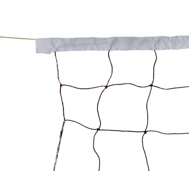 Волейбольная сетка с тросом и тканью. S0781