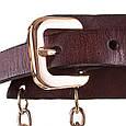 Женский кожаный ремень ETERNO (ЭТЕРНО) ETS418 темно-коричневый, фото 3