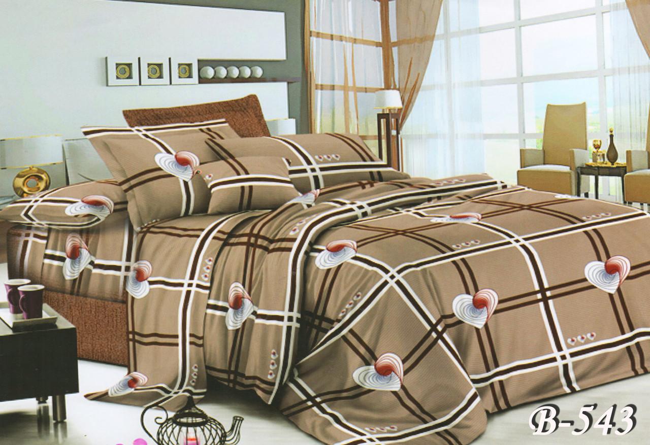 Семейный комплект постельного белья  Gold Delux B-543