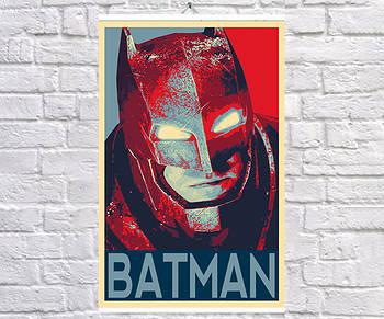 Постер BEGEMOT Поп-Арт Брюс Уейн Бэтмен 61x90 см (1120068-1)