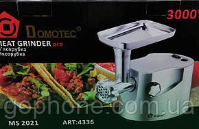 Мясорубка Domotec MS-2021 3000В помощник на вашу кухню, фото 2