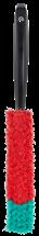 Ручная щетка с короткой ручкой 330 мм, черная, Vikan, фото 2