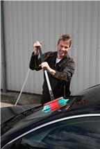 Щетка для мытья автомобиля 270 мм, мягкая, черная, Vikan, фото 3