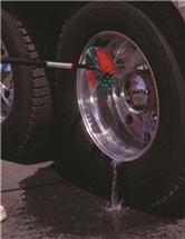Щетка для автомобильных дисков 240 мм, мягкая, черная, Vikan, фото 3
