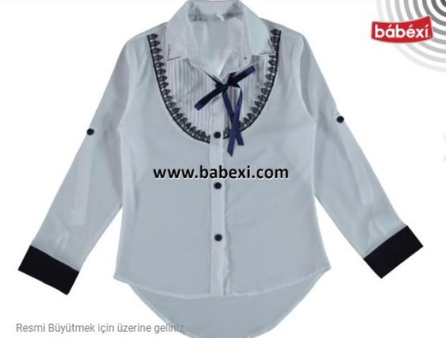 Блуза-трансформер для девочки, Турция, Bebexi, арт. 7122, рр. 10 лет