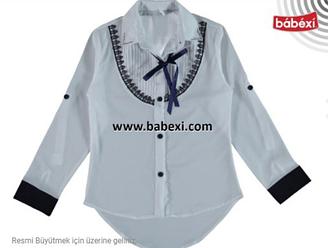 Блуза-трансформер для девочки, Турция, Bebexi, арт. 7122, рр. 10 лет,