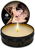 Массажная свеча Shunga MINI MASSAGE CANDLE - Intoxicating Chocolate (30 мл)