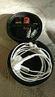 Бокс / футляр / кейс / кофр / чохол для навушників / флешок / дрібниць круглий твердий (EVA) на блискавці, фото 3