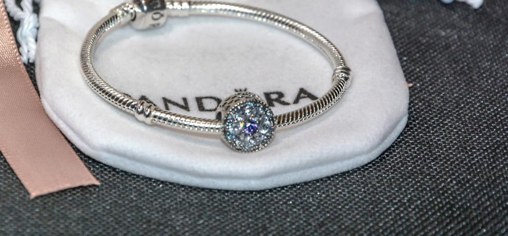 Серебряная подвеска шарм бусина пандора Пандора Pandora