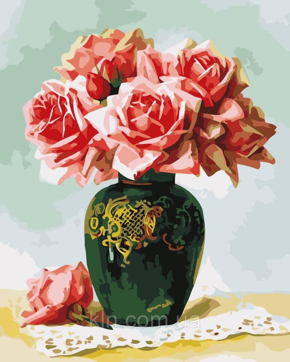 Картина за номерами ArtStory Вишуканий букет 40 х 50 см (арт. AS0520)