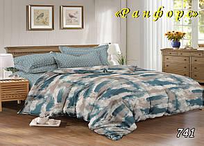 Семейный комплект постельного белья  ранфорс 741, фото 2