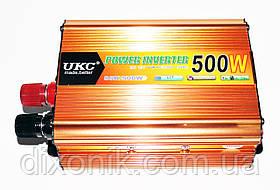 Преобразователь напряжения Power Inverter UKC 500W 12V в 220V