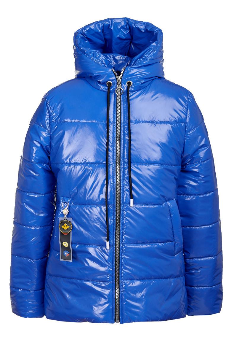 Весення куртка на девочку лаковая от производителя (134-152 размеры)