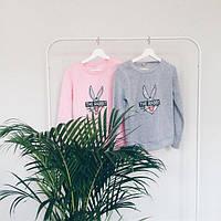 Свитшот,свитшот розовый, свитшот модный,стильный свитшот, свитшот с рисунком