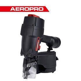 Пистолет гвоздезабивной пневматический барабанный для гвоздей нейлер (магазин 225 гвоздей) AEROPRO MCN90