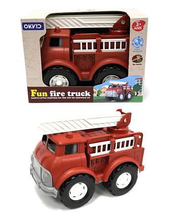 Машина 8002 (24шт) Пожарная, в кор. 26*19.1*15.9см