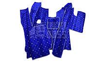 Ворсовые коврики SCANIA R 420 (2006-2013г) Синие Механика