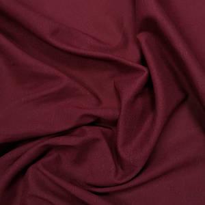 Ткань лен стрейч бордовый