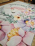 """Бесплатная доставка! Ковер в детскую  """"Единорог в цветах"""" (2*3 м), фото 6"""