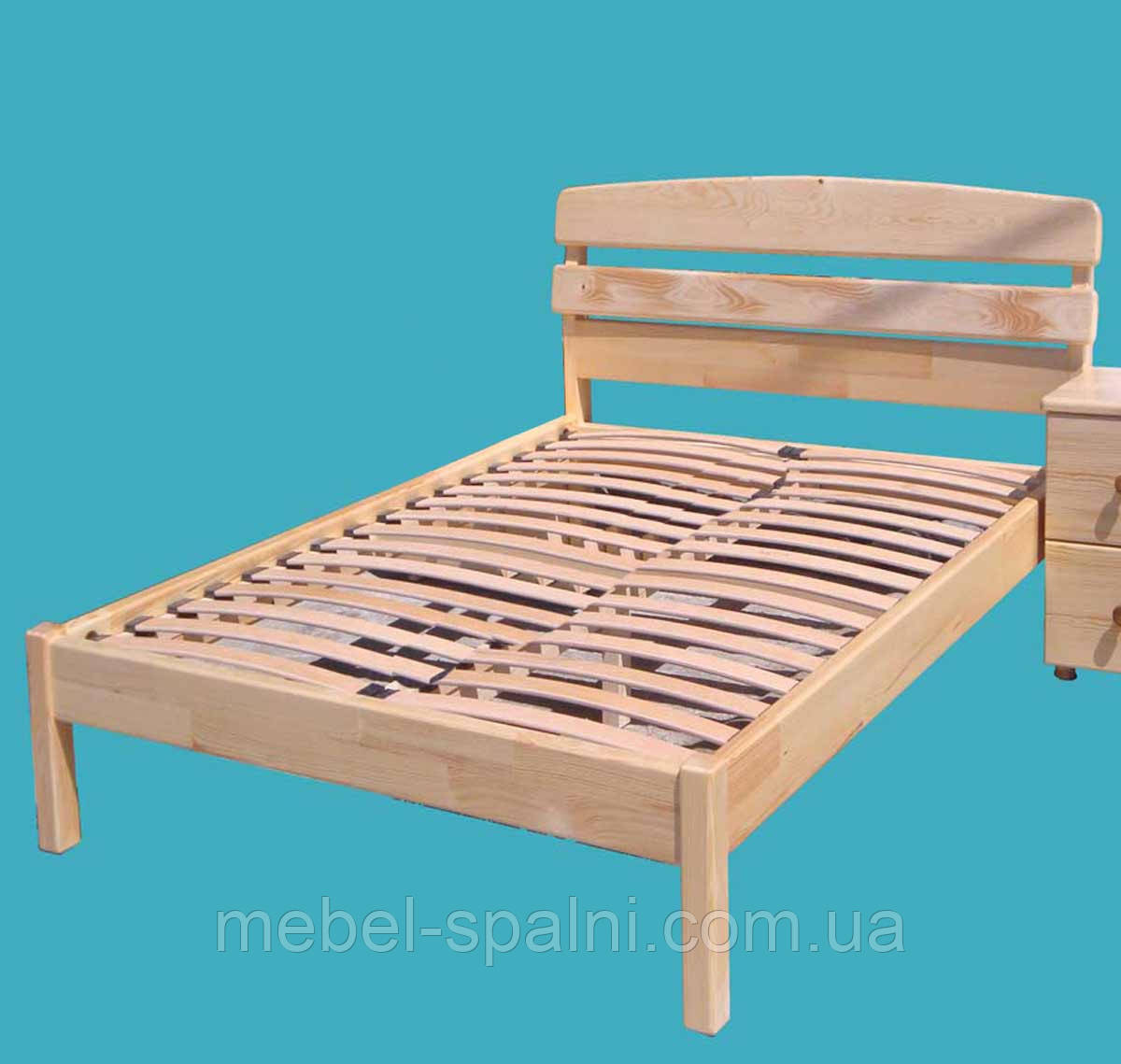 купить харьков кровать деревянная односпальная александра Kral1