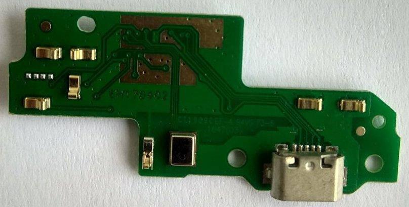 Нижня плата Huawei P9 Lite з конектором зарядки, фото 2