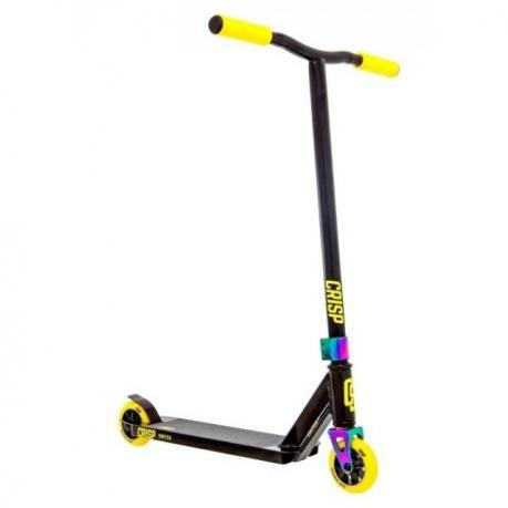 Трюковый самокат Crisp Switch Scooter Black Yellow